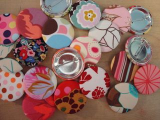Fabric buttons 004