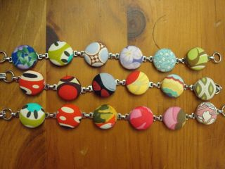Fabric buttons 003