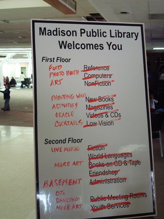 Bookless Madison 2012