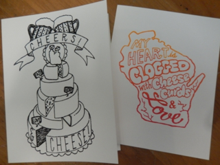Wisco cards by S. Komai at Anthology