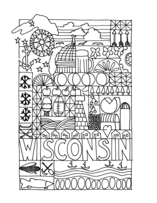 Wiscocoloringpage